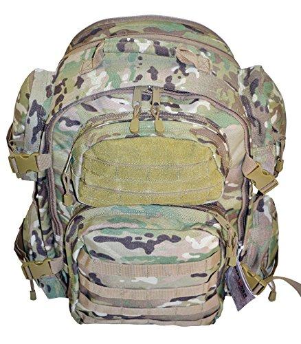 Explorer U.S. Military Level 3 Tactical Backpack, Medium, Multi-Cam