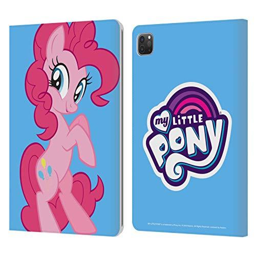 Head Case Designs Licenciado Oficialmente My Little Pony Pinkie Pie Solo Arte del Personaje Carcasa de Cuero Tipo Libro Compatible con Apple iPad Pro 11 (2020/2021)