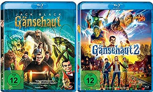 Gänsehaut 1+2 / Teil 1+2 [Blu-ray Set]
