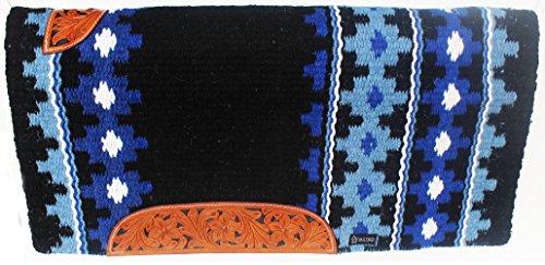 ProRider 34x36 Horse Wool Western Show Trail SADDLE BLANKET Pad Rug 36375C