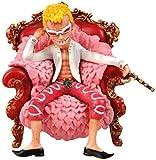 LJXGZY One Piece Q Donquixote Doflamingo Mini Throne Anime Figura 14cm-Figurilla Decoración Adornos ...
