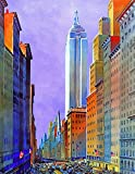 Wooden New York Puzzle - 5th Avenue, New York City - 334 Unique Pieces. Made in The USA by Nautilus Puzzles