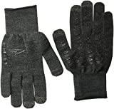 DEFEET ET Dura Glove, Charcoal Wool with Black Grippies, Medium
