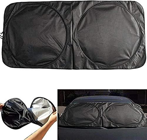 Pouitt 150 70 cm Sombra Solar Plegable Reflejando el Parabrisas automotriz Sun Shade Visor UV Protección Crema precipitador de Hielo