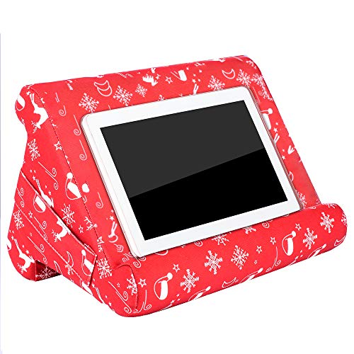 23GUANYI Multi-surface Tablet Cushion Stand,Soft Tablet Pillow Holder Cushion Suit for Most Smartphones/pad/Tablet/Books -Break Resistant,Durable and Attractive Designs