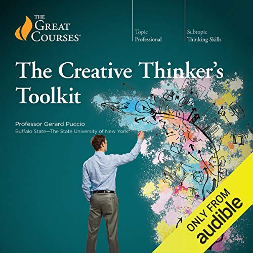 The Creative Thinker's Toolkit                   Written by:                                                                                                                                 Gerard Puccio,                                                                                        The Great Courses                               Narrated by:                                                                                                                                 Gerard Puccio                      Length: 12 hrs and 20 mins     2 ratings     Overall 5.0