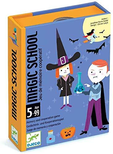 DJECO Magic School Karten (35144), Mehrfarbig (1)