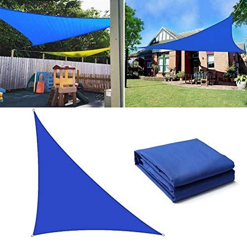 Toldo De Vela Impermeable De Tela Oxford Jardín Terraza Piscina Canopy Sombrilla De Excursión Que Acampa Yard Vela Toldos (Size : 3x3x4.3m)