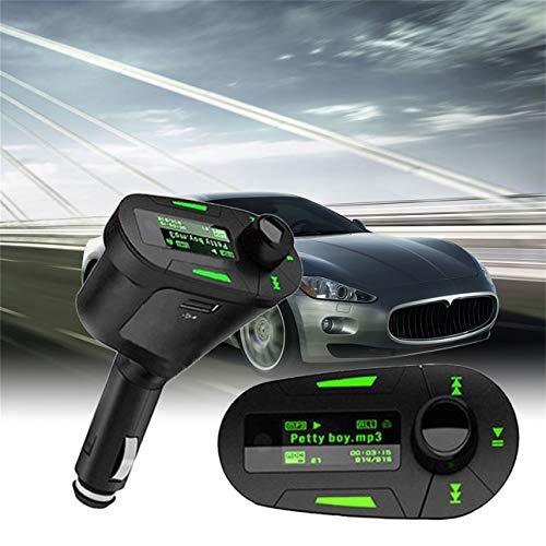 Ballylelly Car MP3 Player Wireless Music Trasmettitore FM Modulatore USB e telecomando