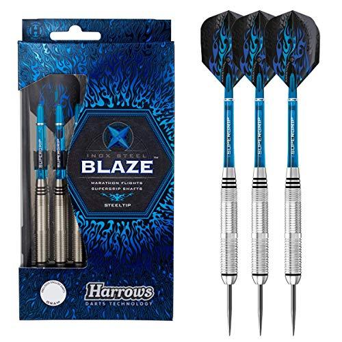 Harrows Unisexs Blaze INOX Steel Darts Multi 21g