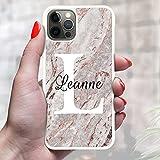 N4U Online® Personalised Marble Phone Case Cover For Apple