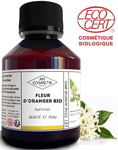 Hydrolat de Fleur d'Oranger BIO Cosmétique - MyCosmetik - 500 ml