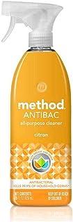 Method Limpiador Antibacterial de Superficies Multiusos, Mata el 99.9% de gérmenes, Citron, 828 ml