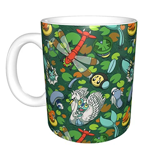 Taza de café Pokemon para café, té y café, con palabras divertidas,...