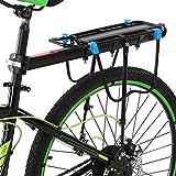 HongTeng-Sedile Posteriore per Bicicletta Portabiciclette Portapacchi Frizione cremagliera Regolabile in Alluminio Portapacchi in Lega di Mountain Bike
