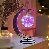 Memea LED Light Star Apples Glass Shape Decoration Light Christmas Decorations