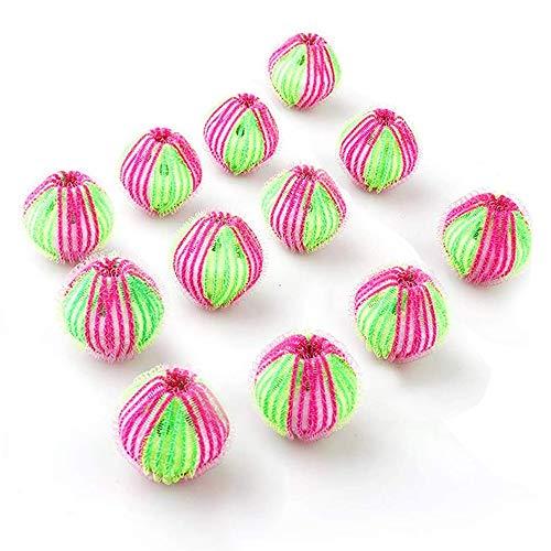 12 Stk Ball Waschen, Wasch Trockner Ball, Wiederverwendbar und Ungiftig, für Waschmaschine und Trockner, Reduzieren Sie die Trocknungszeit, erhalten Sie weniger Falten in der Kleidung