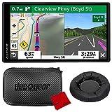 Garmin DriveSmart 55 & Traffic 5.5' Display GPS Navigator with Case and Mount Bundle