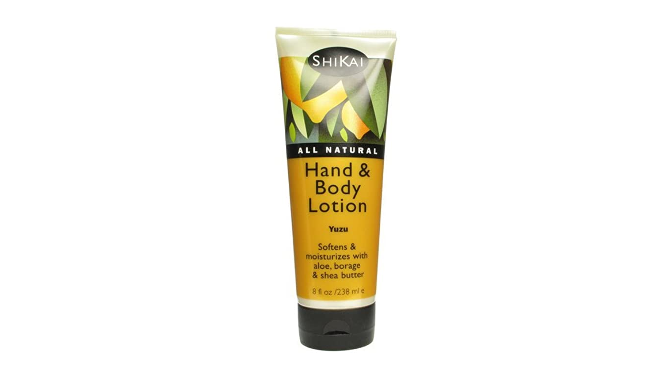正確な追跡会議Shikai All Natural Hand And Body Lotion Yuzu - 8 fl oz by Shikai Products