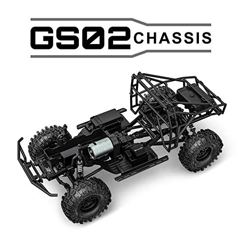 G-Made 57003 1/10 Gs02 Bom RTR Brushed Ultimate Trail Truck W/ 2.4ghz Radio