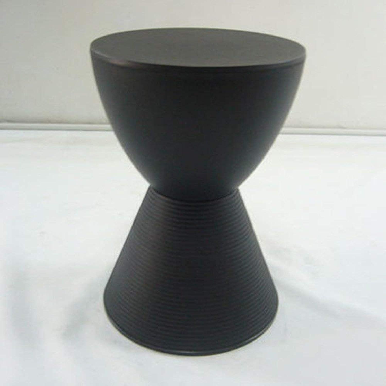 QTQZ Brisk- Hourglass Stool Kids Toy Stool Storage Stool Creative Stool (8 colors Optional) (42 5  29 6cm) (color  B)