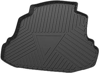 Cqlights Corolla Cargo Liner for Toyota Corolla 2014-2019 Trunk Liner Tray Heavy Duty Rubber Rear Cargo Area Mat Waterproof Protector Floor Mat Black (No iM Hatchback Models)