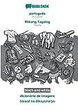 BABADADA black-and-white, português - Wikang Tagalog, dicionário de imagens - biswal na diksyunaryo: Portuguese - Tagalog, visual dictionary