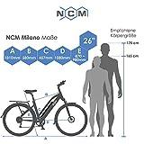 NCM Milano Trekking E-Bike Elektrofahrrad Pedelec