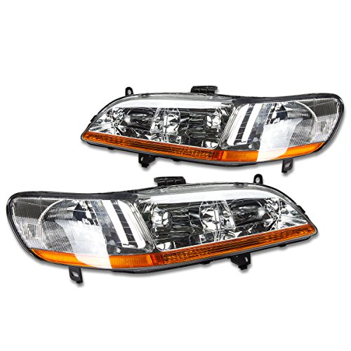 01 honda accord coupe headlights - 1