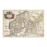 Landkarten Antiquitäten Skandinavien Norwegen Schweden