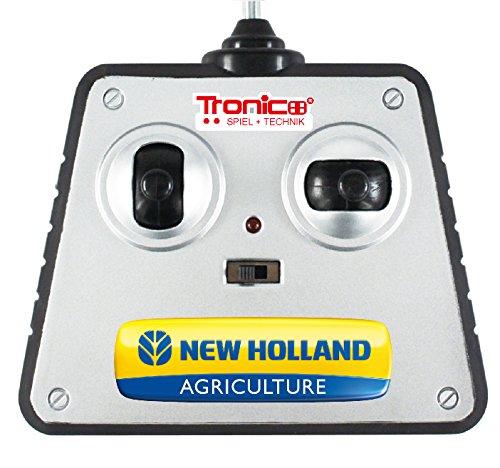 RC Auto kaufen Traktor Bild 4: Tronico 10057 - Metallbaukasten Traktor New Holland T8 mit Fernsteuerung, Profi Serie, Maßstab 1:16, 732-teilig, blau*