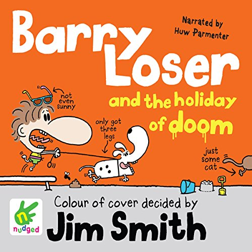 Barry Loser and the Holiday of Doom audiobook cover art
