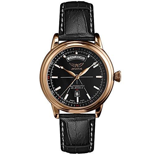 Aviator Douglas - Reloj de Pulsera con Fecha para Hombre