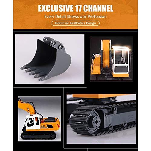 RC Auto kaufen Baufahrzeug Bild 4: KEISL 3-in-1 Ingenieurmaschinen-Auto, RC Bagger, Fernbedienung, Traktor, Spielzeug, Baufahrzeuge*