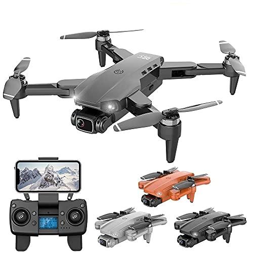 Drone com Camera 4k L900 Pro Full HD Duas Cameras Com GPS 5G WIFI FPV Transmissão em Tempo Real Motores Brushless Alcance remoto 1,2km Drone Profissional Com Case (Preto)