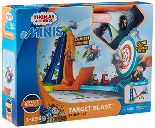 Thomas & Friends MINIS Target Blast Stunt Set dunk tank