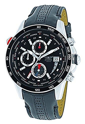 Reloj Aviator World Time Hombre-avw8974g76