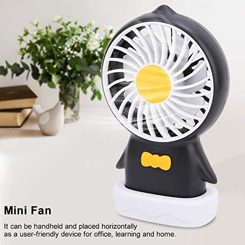 Draagbare USB-ventilator + luchtbevochtiger Desktop Mini-koelventilatorset Kleine persoonlijke mini-elektrische ventilator voor buiten Office Home Camping Reizen(wit)