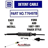 AOD Transmission Detent/TV Cable compatible with Ford Truck and SUV