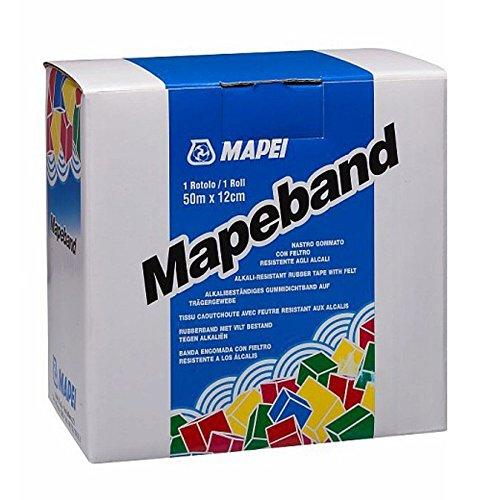 Mapeband banda in gomma di striptease lunghezza m50 Confezione da 1PZ