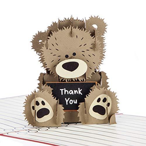 Cardology - Tarjeta 3D de agradecimiento para profesores (15 x 15 cm)