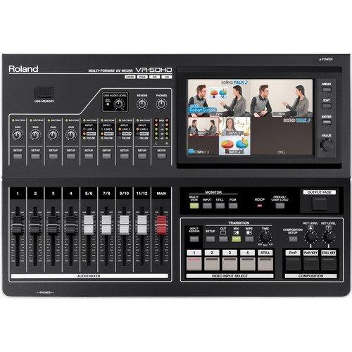 Roland VR-50HD - Multi-Format AV Mixer