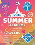 Kids Summer Academy by ArgoPrep - Grades K-1: 12 Weeks of Math, Reading, Science, Logic, Fitness and Yoga   Online Access Included   Prevent Summer Learning Loss