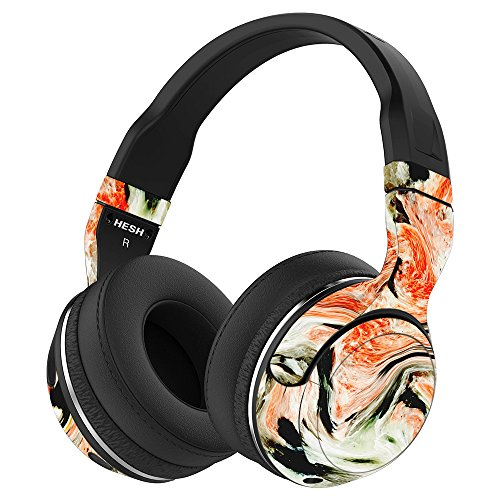 MightySkins Skin Compatible with Skullcandy Hesh 2 Wireless Headphones - Marble Madness | Protective, Durable, and Unique Vinyl wrap Cover | Easy to Apply, Remove, and Change Styles | Made in The USA