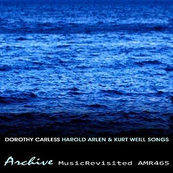 Harold Arlen and Kurt Weill Songs