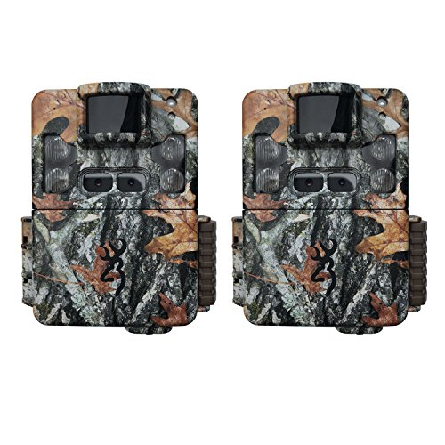 Browning Trail Cameras Strike Force Pro XD Dual Lens 24MP Game Camera (2-Pack)