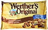 Werther's Original, Caramelo duro (Sabor chocolate) - 2 de 1000 gr. (Total 2000 gr.)