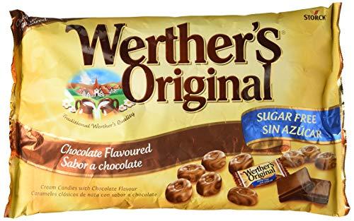 Werther's Original, Caramelo duro (Sabor chocolate) - 2 de 1000 gr. (Total 2000 gr.)