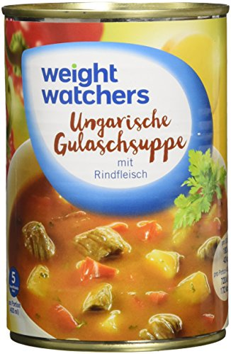 Weight Watchers Ungarische Gulaschsuppe, Dose, 6er Pack (6 x 400 ml)