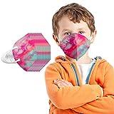 20/25/50/100 uds Niño 5 Capas protección con Correas elásticas para los oídos ,Diseño 3D